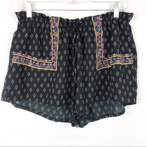 About A Girl Boho Tribal Print Shorts